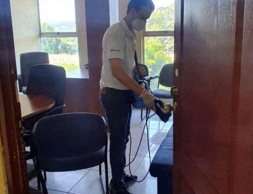 FESFUT realizó Sanitización en las instalaciones para el inicio de operaciones Administrativas.